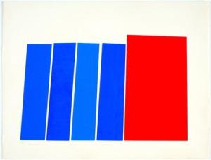 אלימה, ללא כותרת, הדפס רשת, 1979
